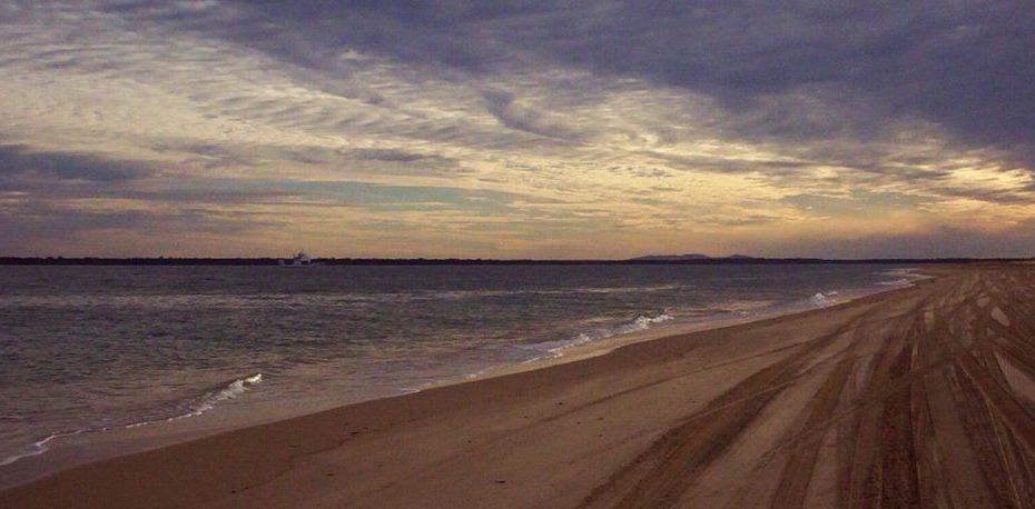 strade di sabbia a fraser island