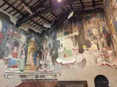 Gentile da Fabriano, Sala delle Arti Liberali e dei Pianeti a Palazzo Trinci a Foligno