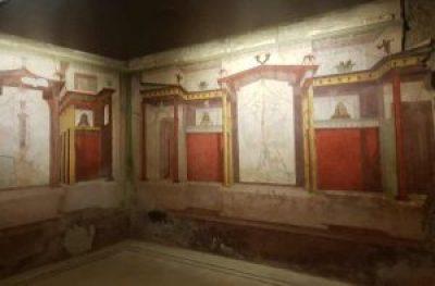 Casa di Augusto, la stanza delle Maschere