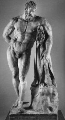 L'Ercole a riposo della collezione Farnese @ MANN