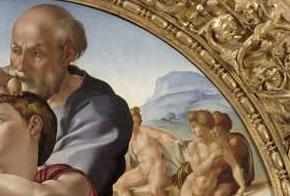 Michelangelo, Tondo Doni - dettaglio @ uffizi.it