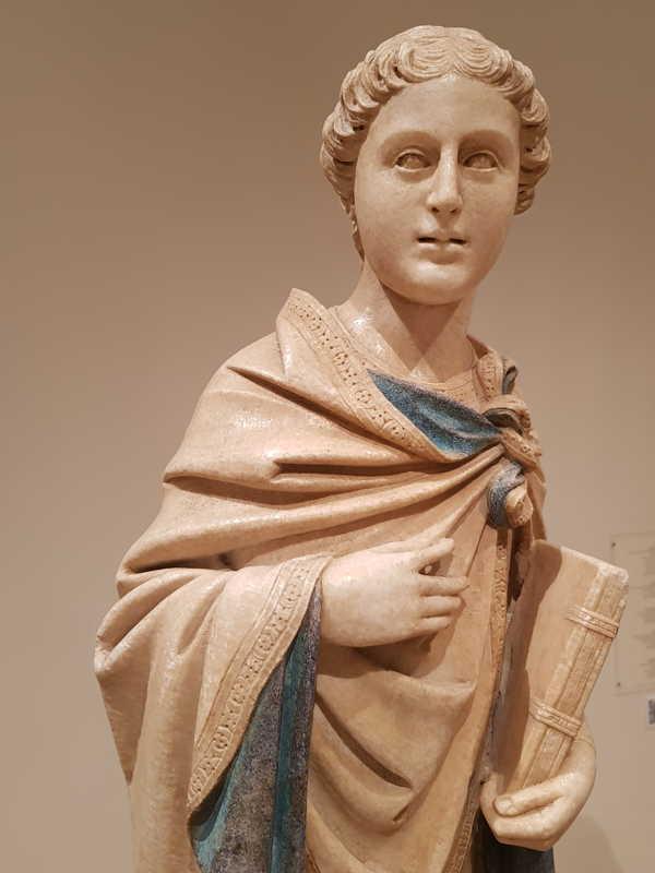 Statue di profeti, santi e apostoli - dettaglio