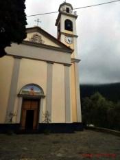 Chiesa di San Maurizio di Monti visitata durante le invasioni digitali al museo pendola di rapallo.