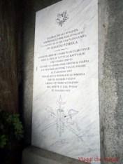 Stele a Giovanni Pendola a San Maurizio di Monti, vicino a Rapallo.