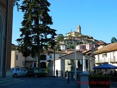 Monforte d'Alba, il borgo.