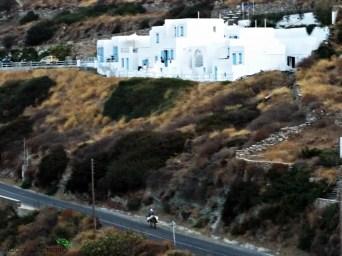 un asino sulla strada che collega Kastro ad apollinia sull'isola di sifnos.