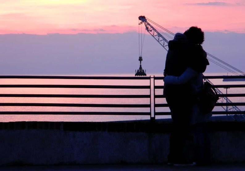 tramonto_porto_genova