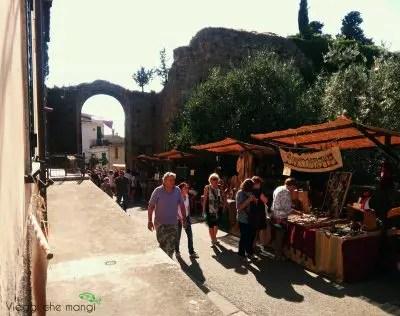 Festa Medioevale di Malmantile, scorcio.