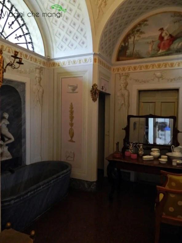 Villa Poggio a Caiano, bagno.