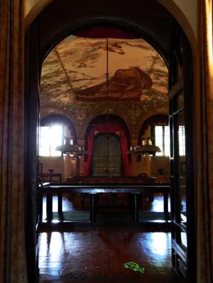 Villa Poggio a Caiano, sala da gioco.