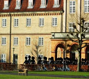 Cambio della Guardia a Rosenborg Slot, Copenaghen