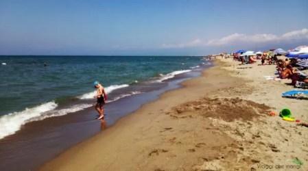 Spiaggia di Marina di Vecchiano, una delle tre cose da vedere in Versilia.