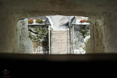 Il ponte levatoio del Castello di Predjama.