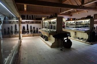 museo della prima guerra mondiale vicino al Castello di Predjama