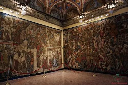 Arazzi di Alessandro Magno, Villa del Principe Genova
