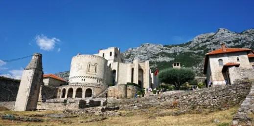 Museo Skanderbeg Krujë città da visitare in Albania.