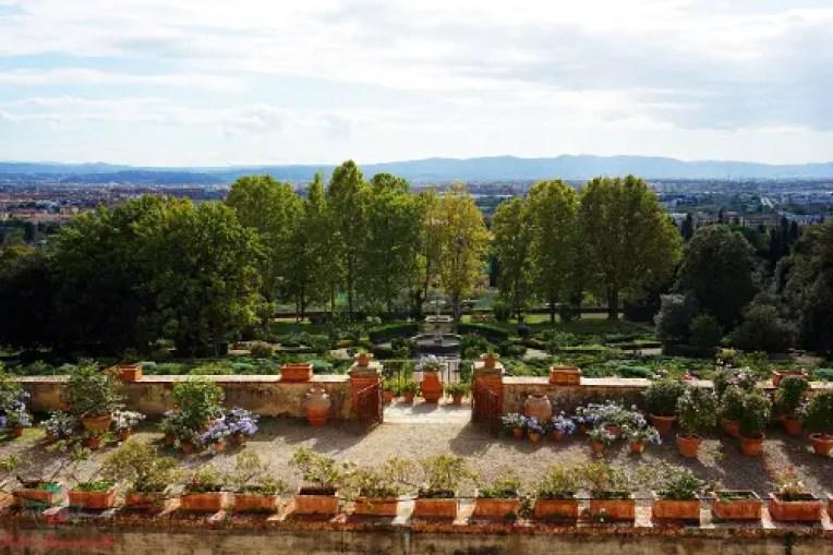 Giardini, Villa Medicea La Petraia.