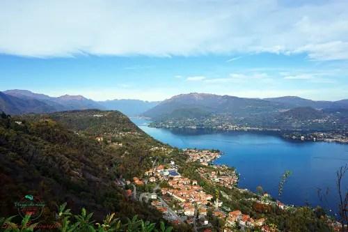 Per visitare Il lago d'Orta al meglio bisogna salire al Santuario della Madonna del Sasso.