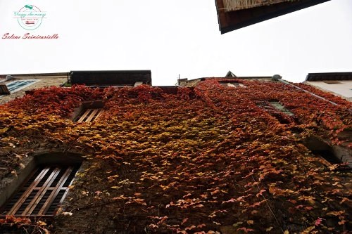 facciate della via al castello di dolceacqua, uno dei borghi liguri da visitare
