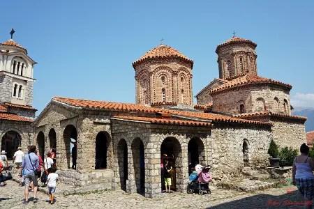 cosa fare sul lago di ohrid: andare a visitare il monastero di sveti naum