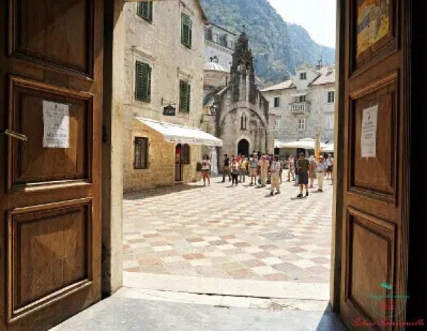 cosa vedere a kotor: Chiesa di San Luca, vista dall'interno della Cattedrale ortodossa
