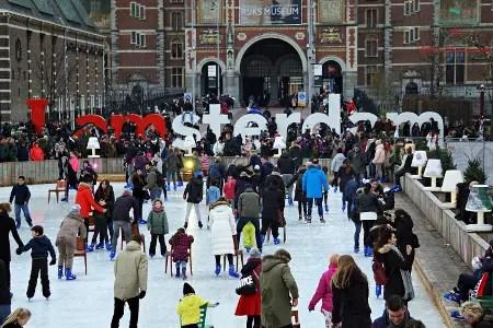 ice village cosa vedere ad amsterdam in 4 giorni a natale