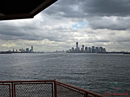 Manhattan from Staten Island Ferry: usa by a local