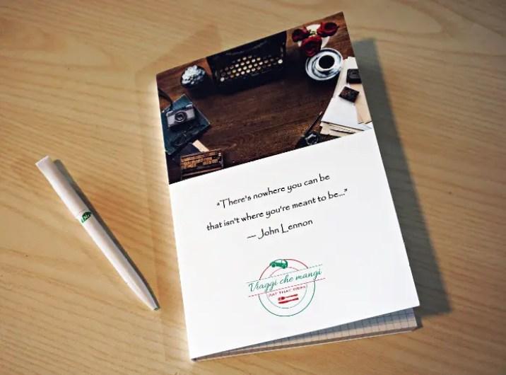 stamapre un block notes personalizzato online con docta print regala un risultato davvero fantastico.