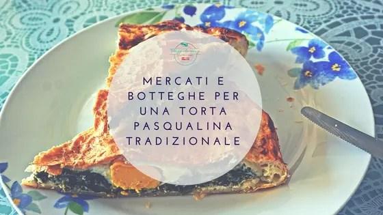 la torta pasqualina tradizionale genovese: copertina del blog post di viaggi che mangi.