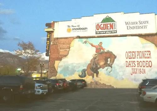 murales a Ogden, UTAH.