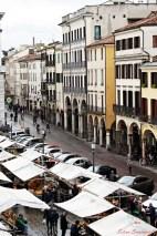 Cosa visitare a Padova: il Mercato in Piazza dei Frutti,