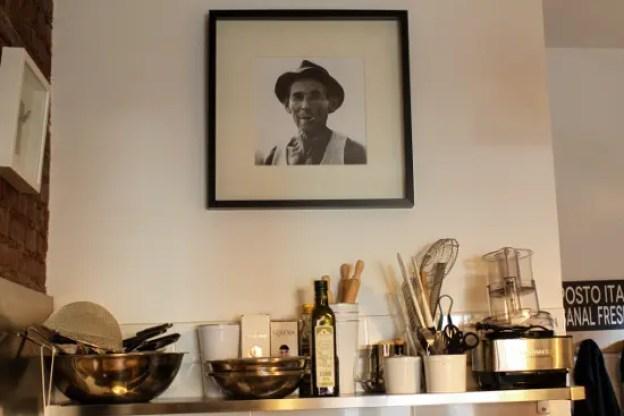 Fotografia dei parenti italiani del proprietario di un posto italiano, un ristorante italiano a Brooklyn. © Christopher Lehnert