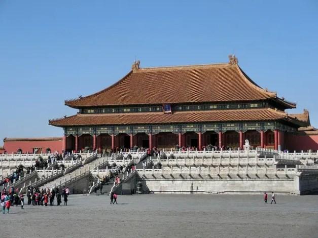 La Città Proibita di Pechino assomiglia al Palazzo dell'Imperatore di Mulan, uno dei cartoni animati che invogliano a viaggiare.