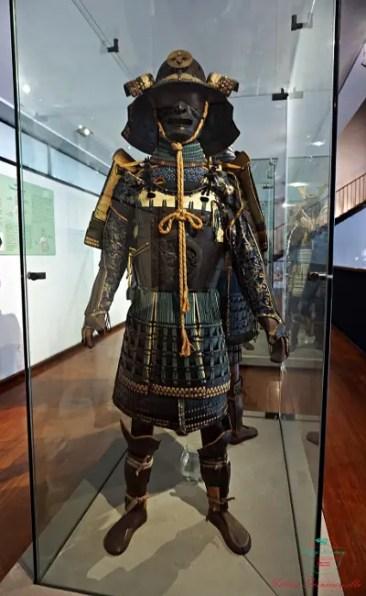 al museo chiossone di genova sono conservate alcune armature da samurai.