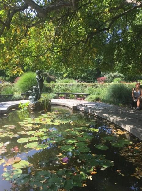 Conservatory Garden una delle cose da visitare a West Harlem a New York.