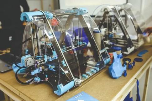 Stampante 3d, una delle tecnologie che puoi trovare alla Maker Faire Rome.
