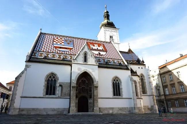 Cosa vedere a Zagabria: la chiesa di San marco