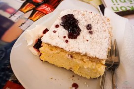 La kremšnita, la torta di Samobor, villaggio nei dintorni di Zagabria.