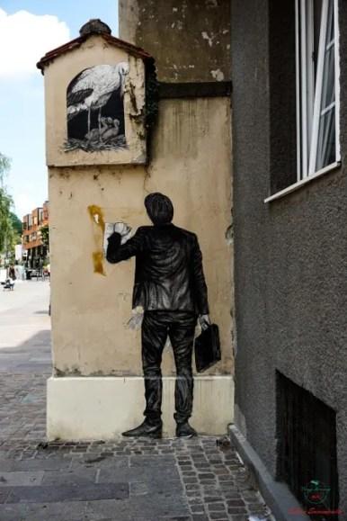 Seguire la street art è una delle cose migliori per visitare Zagabria.