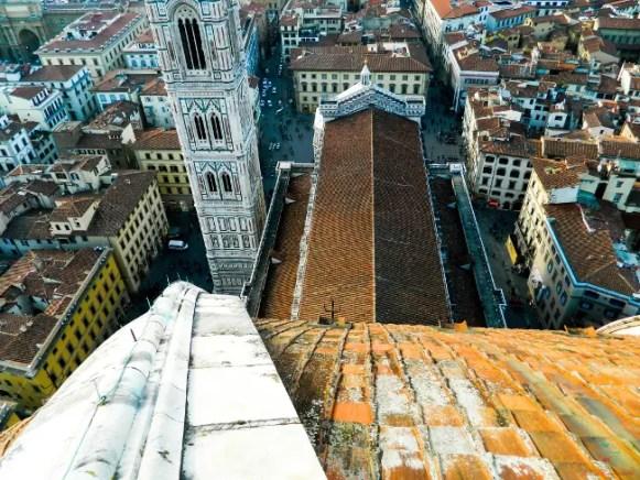 Cosa vedere a Firenze? La cupola del Brunelleschi e il panorama sulla città.