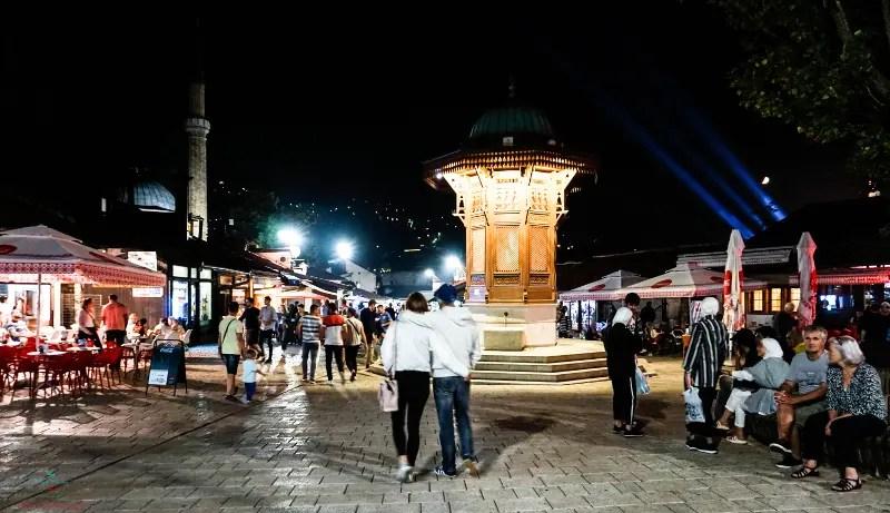 Cosa vedere a Sarajevo: Baščaršija.