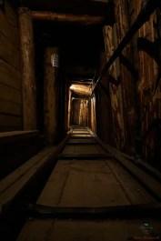 Tunnel utilizzato durante l'assedio di Sarajevo.