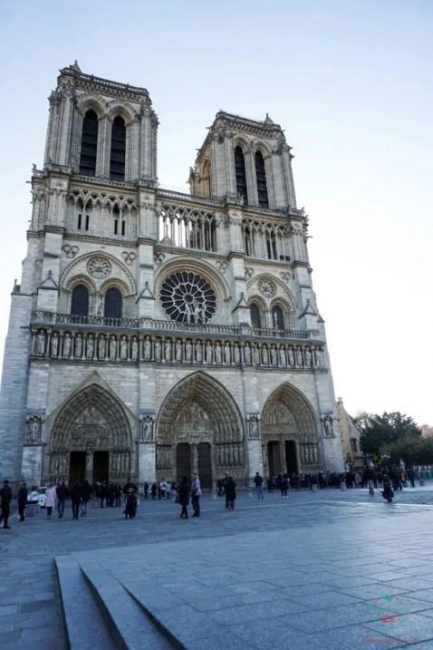 La Cattedrale di Notre Dame, Parigi.