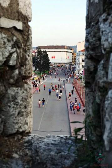 scorcio dalla fortezza di Niš.