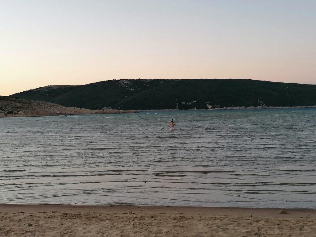 Sahara, spiaggia sull'isola di Rab o Arbe, Croazia
