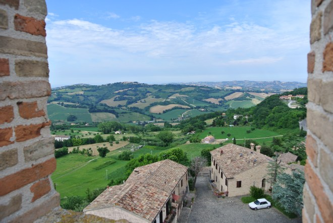 Ofagna, vista dalla Rocca
