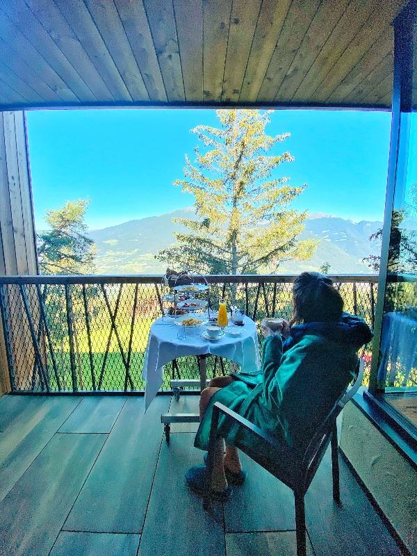Hotel sugli alberi in Alto Adige: My Arbor
