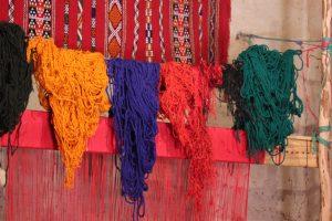 I colori dei tappeti berberi