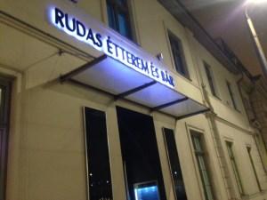 Terme Rudas a Budapest