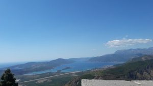 Strade in Montenegro, la P-1